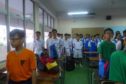 会员在集合教室