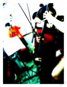 我练着我的cello~