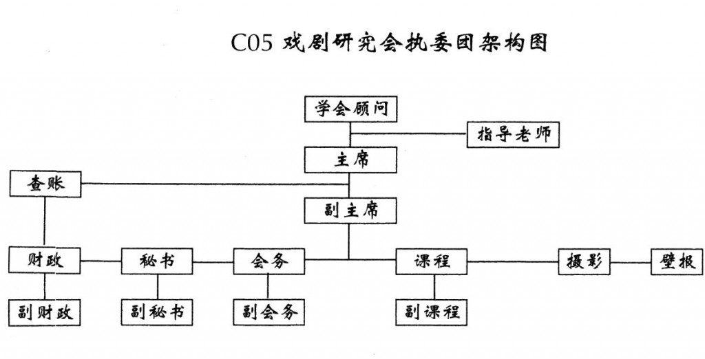 Executive Committee Structure in 2009