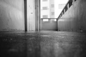 佳作獎 (五份) 姓名:刘智维 S3C4 敘述:《冷清的角落》:放学后,冷落的校园角落。使用黑白以特显角落的孤独。雨滴像它的泪水。