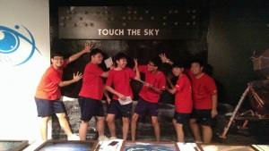 Touch the sky 幻想着碰到天空的白痴 :DD