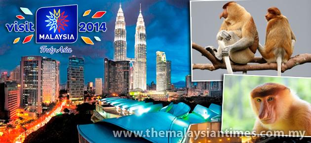 2014马来西亚旅游年宣传海报 请看左页^^