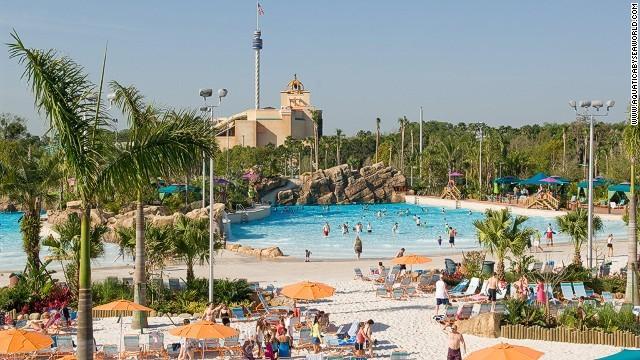 美国佛罗里达州奥兰多市的水上乐园