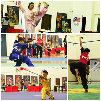 2015年度雪隆校际武术竞标赛
